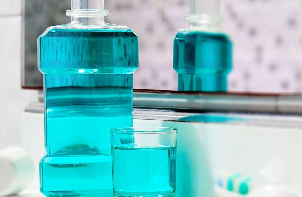 Alkoholfreies Mundwasser für frischen Atem