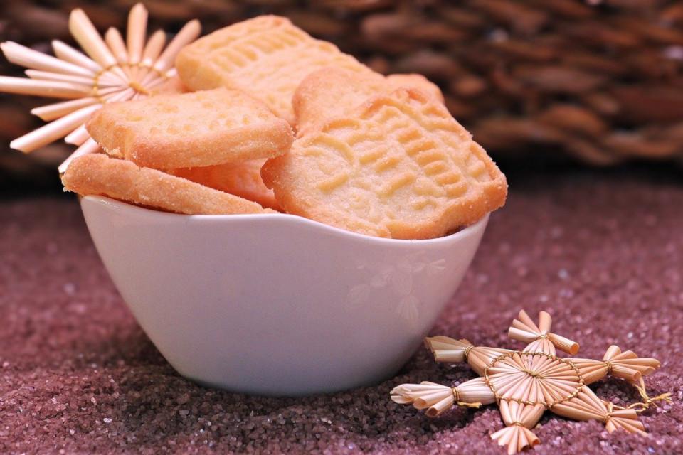 Laktosefreie Kekse