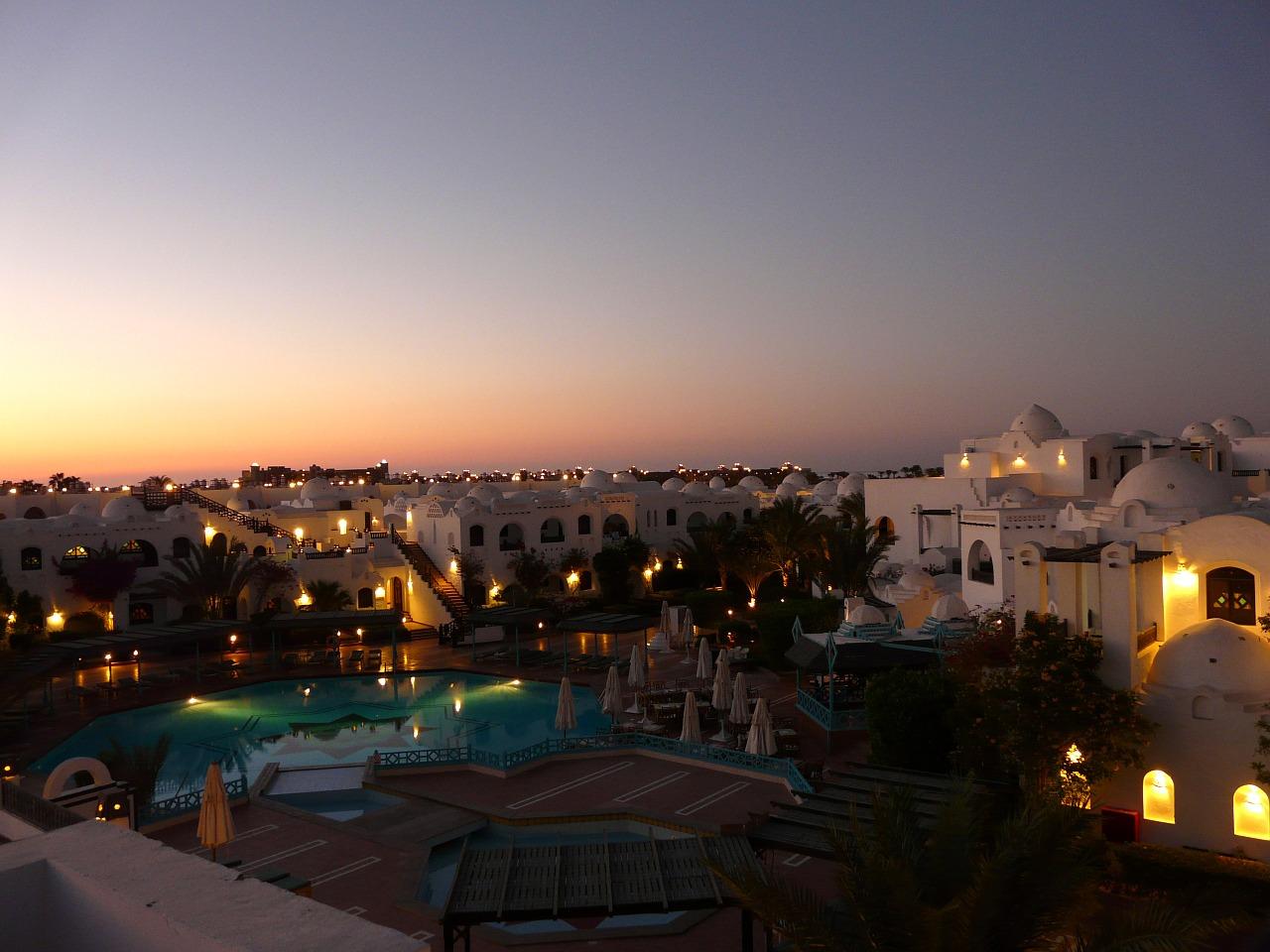 Altstadt von Hurghada in Ägypten